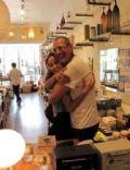 Emilie Livingston and Jeff Goldblum