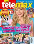 Anna Guzik on the cover of Tele Max (Poland) - August 2013