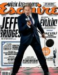 Jeff Bridges on the cover of Esquire (Turkey) - June 2011