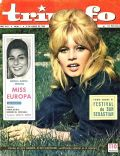 Brigitte Bardot on the cover of Triunfo (Spain) - June 1962