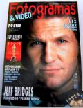 Jeff Bridges on the cover of Fotogramas (Spain) - March 1992