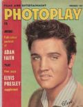 Elvis Presley on the cover of Photoplay (United Kingdom) - November 1962