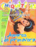 Camila Bordonaba, Felipe Colombo, Felipe Colombo and Camila Bordonaba on the cover of Chiquititas (Argentina) - September 2000