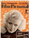 Jean Harlow on the cover of Film Pictorial (United Kingdom) - May 1935