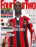 Mario Balotelli on the cover of Four Four Two (United Kingdom) - April 2013