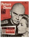 Yul Brynner on the cover of Picture Show (United Kingdom) - April 1959