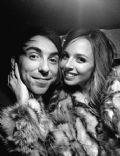Alex Gaskarth and Lisa Ruocco