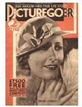 Irene Dunne on the cover of Picturegoer (United Kingdom) - January 1933