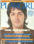 Paul McCartney on the cover of Playgirl (United States) - June 1982