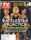 Grace Park, Katee Sackhoff, Tricia Helfer on the cover of TV Guide (United States) - March 2005