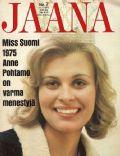 Jaana Magazine [Finland] (11 February 1975)
