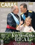 Felipe de Borbón, Infanta Leonor of Spain, Juan Carlos de Borbón on the cover of Caras (Ecuador) - July 2014