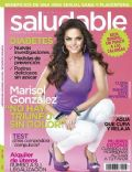 Marisol Gonzalez on the cover of Saludable (Mexico) - November 2010