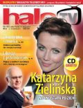 Katarzyna Zielinska on the cover of Halo TV (United Kingdom) - September 2011