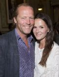 Iain Glen and Charlotte Emerson