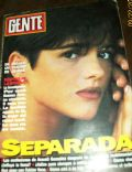 Araceli González on the cover of Gente (Argentina) - March 1992