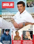 Antonio Banderas, Eugenia Tobal, Nicolás Cabré on the cover of Hola (Argentina) - February 2012