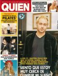 Gastón Pauls on the cover of Quien (Argentina) - October 2003