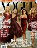 Annie Leibovitz, Kate Hudson, Marion Cotillard, Nicole Kidman, Penélope Cruz on the cover of Vogue (United States) - November 2009