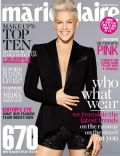 Pink on the cover of Marie Claire (Australia) - September 2013