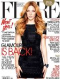 Rachelle Lefevre on the cover of Flare (Canada) - January 2010