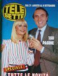 Tele Sette Magazine [Italy] (31 August 1986)