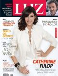 Catherine Fulop on the cover of Luz (Argentina) - May 2014