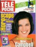 Neve Campbell on the cover of Tele Poche (France) - August 1999