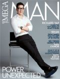 Richard Yap on the cover of Mega Man (Philippines) - March 2014