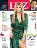 Daniela Urzi on the cover of Luz (Argentina) - January 2014
