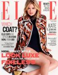 Kate Upton on the cover of Elle (United Kingdom) - September 2014