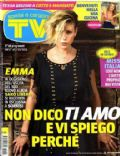 Emma Marrone on the cover of TV Sorrisi E Canzoni (Italy) - October 2011