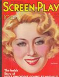 Joan Blondell on the cover of Screen Play (United States) - October 1932