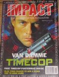 Jean-Claude Van Damme on the cover of Impact (United Kingdom) - February 1995