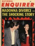 Madonna on the cover of National Enquirer (United States) - December 1987