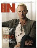 Sting on the cover of In New York (United States) - July 2008