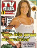 Andrea Frigerio on the cover of TV Guia (Argentina) - May 1999