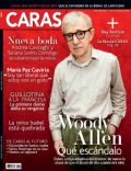 Woody Allen on the cover of Caras (Colombia) - February 2014