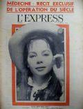 L'Express Magazine [France] (19 February 1959)