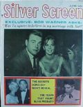 Natalie Wood, Robert Wagner on the cover of Silver Screen (United States) - June 1962