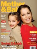 Sevinç Erbulak on the cover of Mother and Baby (Turkey) - February 2013