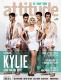 Kylie Minogue on the cover of Attitude (United Kingdom) - July 2010