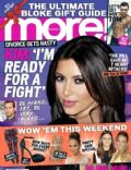 Kim Kardashian on the cover of More (United Kingdom) - December 2012