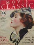 Myrna Loy on the cover of Movie Classic (United States) - April 1936