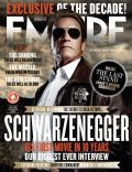 Arnold Schwarzenegger on the cover of Empire (United Kingdom) - November 2012