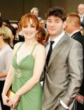 Katherine Parkinson and Harry Peacock