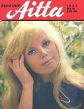 Marta Kristen on the cover of Elokuva Aitta (Finland) - December 1967