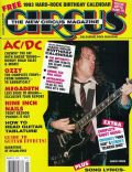 Angus Young on the cover of Circus (United States) - January 1993