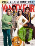 Ben Stiller, Chris Rock, Jerry Seinfeld, Kristen Wiig on the cover of Vanity Fair (United States) - January 2013