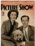 Vivien Leigh on the cover of Picture Show (United Kingdom) - November 1937